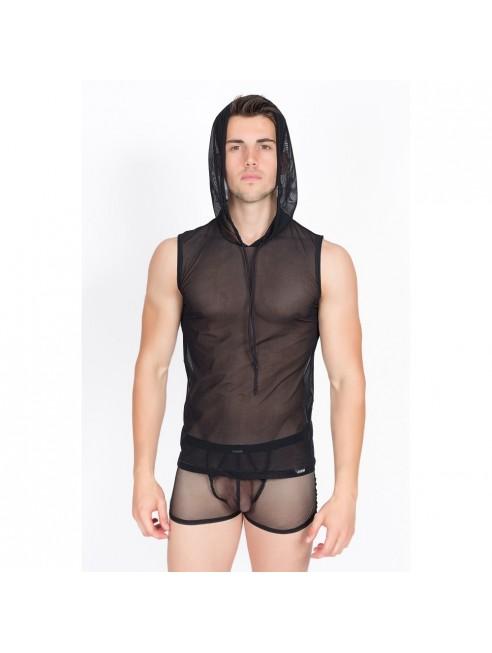 V-Shirt Malibu II Noir