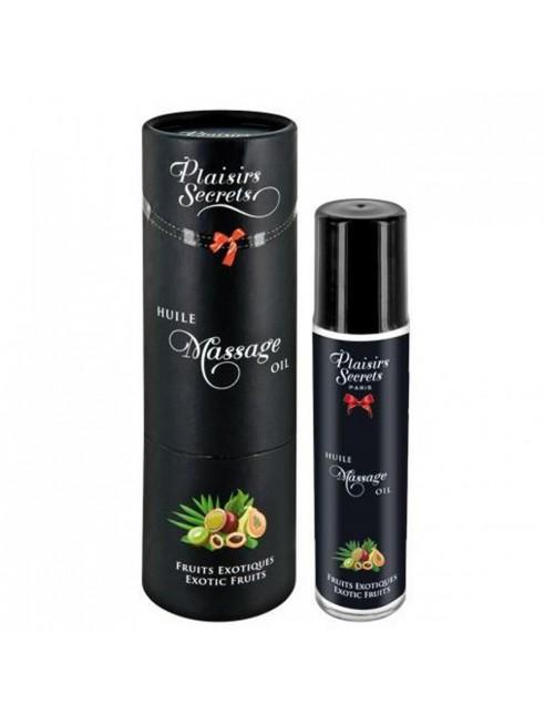 Huile de massage comestible fruits exotiques 59ml