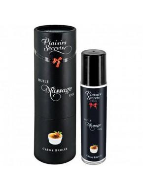 Huile de massage comestible crème brûlée 59ml