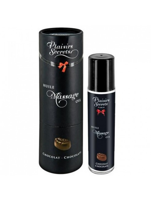 Huile de massage comestible chocolat 59ml