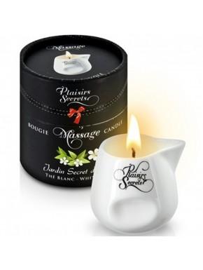 Bougie de massage thé blanc 80ml