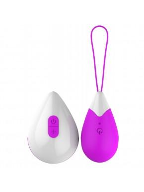 Oeuf vibrant design violet 10 vitesses USB