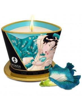 Bougie de massage fleurs des iles 170ml