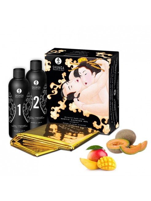 Gelée de massage oriental melon mangue