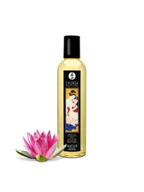 Huile de massage coeur de lotus aphrodisiaque 250ml