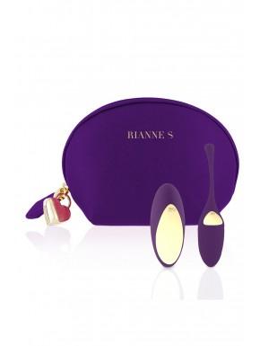 Trousse cosmétique et œuf vibrant vibrante USB