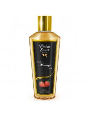 Huile de massage sèche fraise 250ml