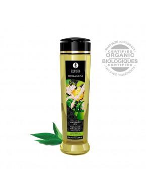 Huile de massage aphrodisiaque Organica bio thé vert 240ml - CC1311