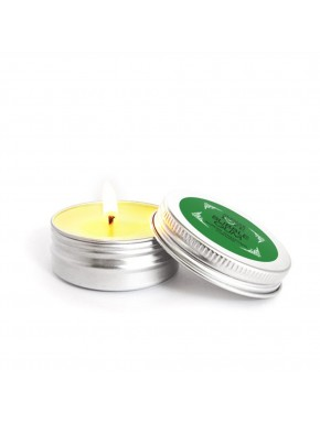 Mini Bougie de massage Bubble Gum 30ml - SEZ0066