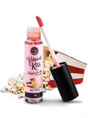 Gloss sexe oral vibrant au pop corn 100% comestible - SP6584
