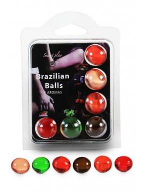 Boules de massage Brésiliennes multi-saveurs - BZ3866