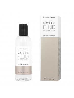 Lubrifiant Mixgliss Fluid nature silicone sans parfum 100 ML - MG0005