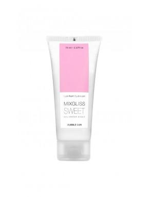 Lubrifiant Mixgliss eau Sweet Bubble Gum 70 ML - MG2238