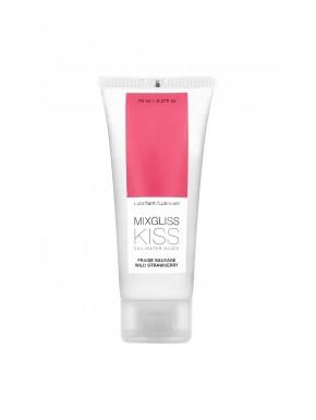 Lubrifiant Mixgliss eau Kiss Fraise sauvage 70 ML - MG6221