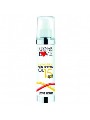 Crème solaire aphrodisiaque indice 15 Lovelight 100ml